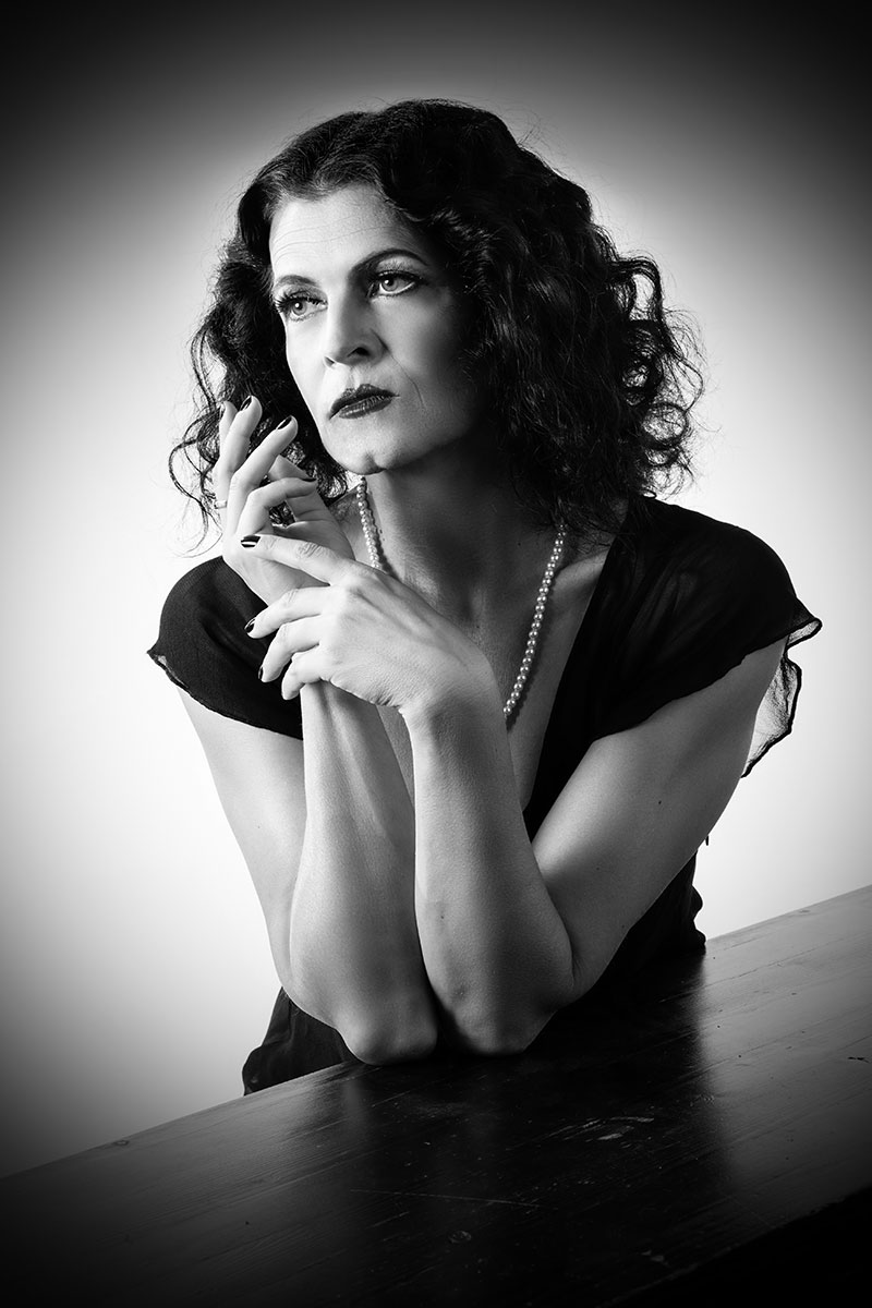Klaudia Reichenbacher ist Hedy Lamarr
